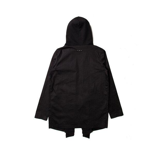 【EST】PUBLISH MONO 2 KONRAD 運動 連帽 開襟 外套 黑 [PL-5289-002] F0417 1