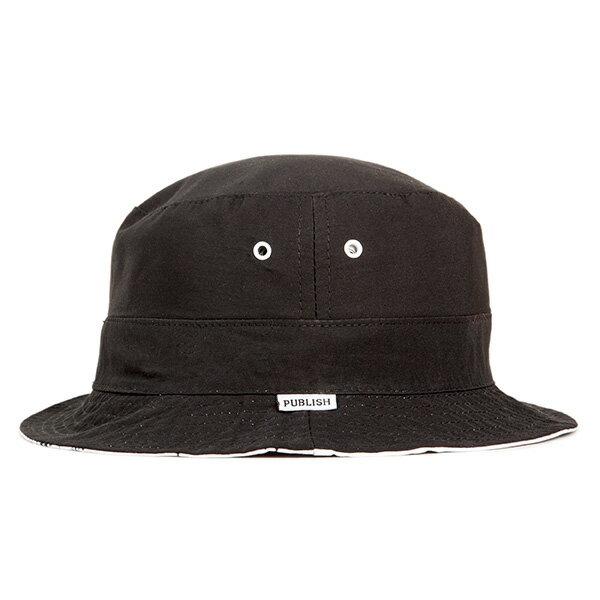 【EST】PUBLISH WILLARD 滿版 塗鴉 雙面 漁夫帽 黑 [PL-5293-002] F0417 1