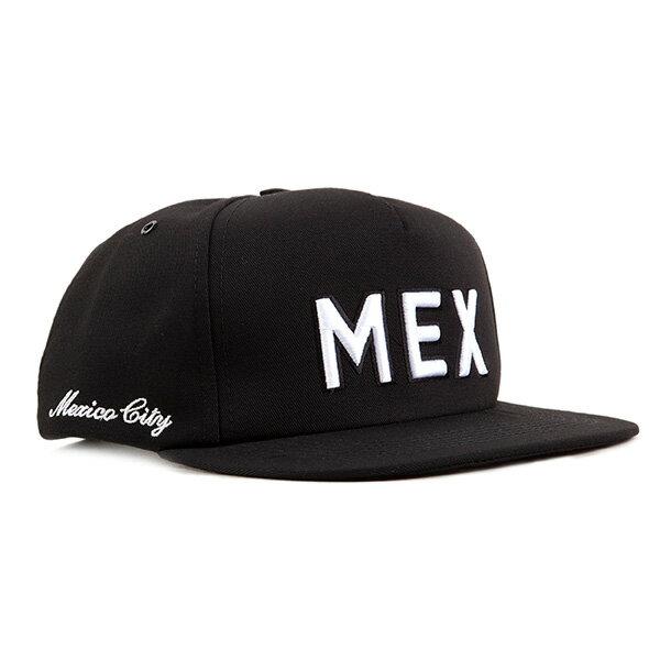 【EST】PUBLISH MEXICO CITY 墨西哥 縮寫 棒球帽 黑 [PL-5296-002] F0417 0