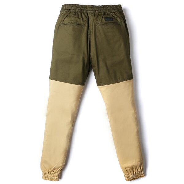 【EST】Publish Two-Tone Jogger Pants 束口褲 墨綠 卡其 [PL-5305-035] F0508 1