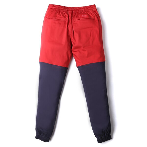 【EST】Publish Two-Tone Jogger Pants 束口褲 酒紅 深藍 [PL-5308-069] F0508 1