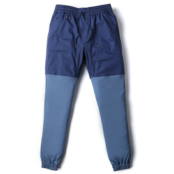 【EST】Publish Two-Tone Jogger Pants 束口褲 深藍 淺藍 [PL-5309-086] F0508 0