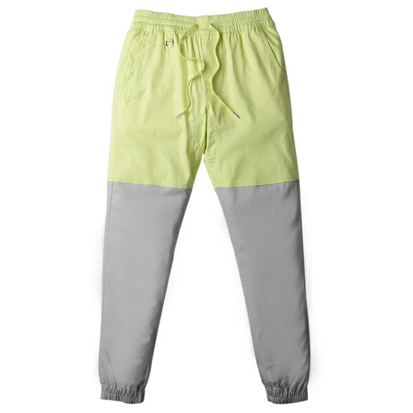 【EST】PUBLISH TWO-TONE JOGGER PANTS 束口褲 亮黃 灰 [PL-5310-021] F0508 0