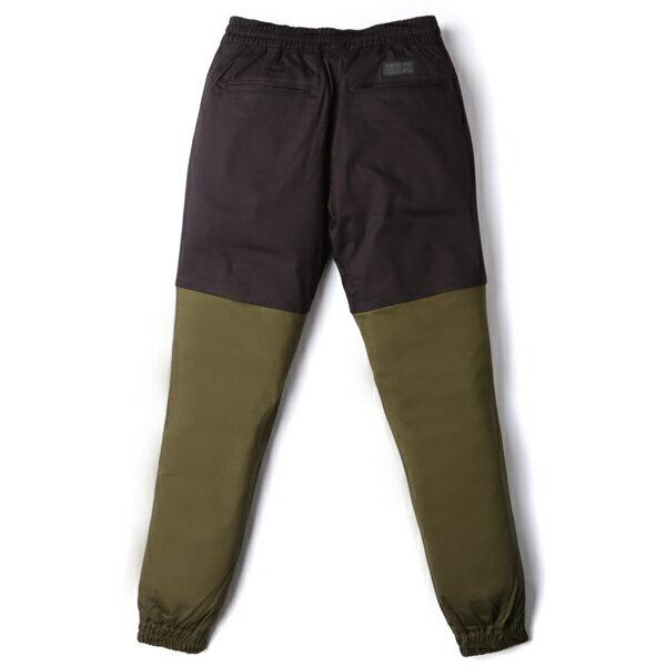 【EST】Publish Two-Tone Jogger Pants 束口褲 黑 墨綠 [PL-5313-002] F0508 1