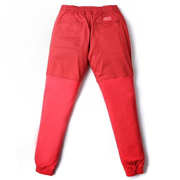 【EST】PUBLISH TWO-TONE JOGGER PANTS 束口褲 酒紅 紅 [PL-5314-069] F0508 1