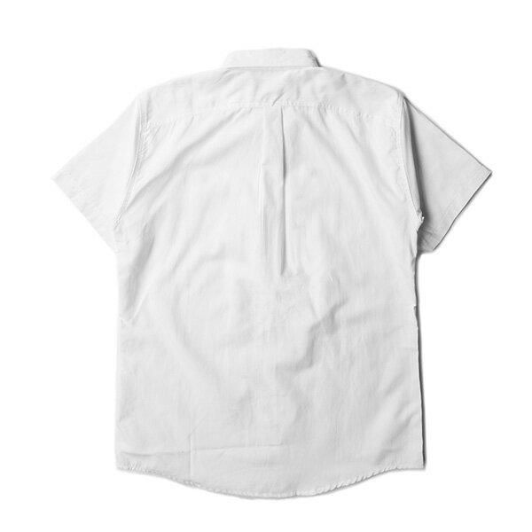【EST】Publish Dingo 素面 短袖 襯衫 白 [PL-5316-001] F0529 1