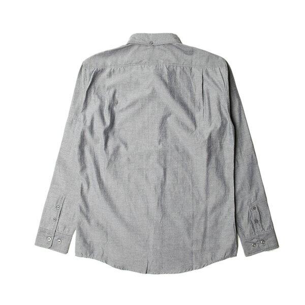 【EST】PUBLISH NEIL 素面 拼接 長袖 襯衫 黑 [PL-5317-007] S~L F0529 1