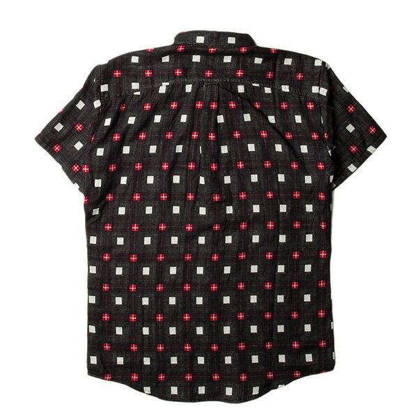 【EST】PUBLISH STINSON 拚色 格紋 短袖 襯衫 黑 [PL-5320-002] S~L F0529 1