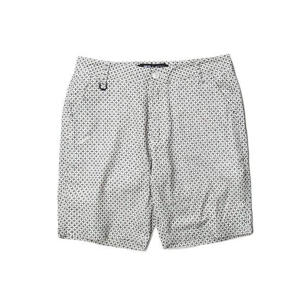 【EST】Publish Amadeus 十字紋 短褲 五分褲 白 [PL-5321-001] W28~34 F0529 0