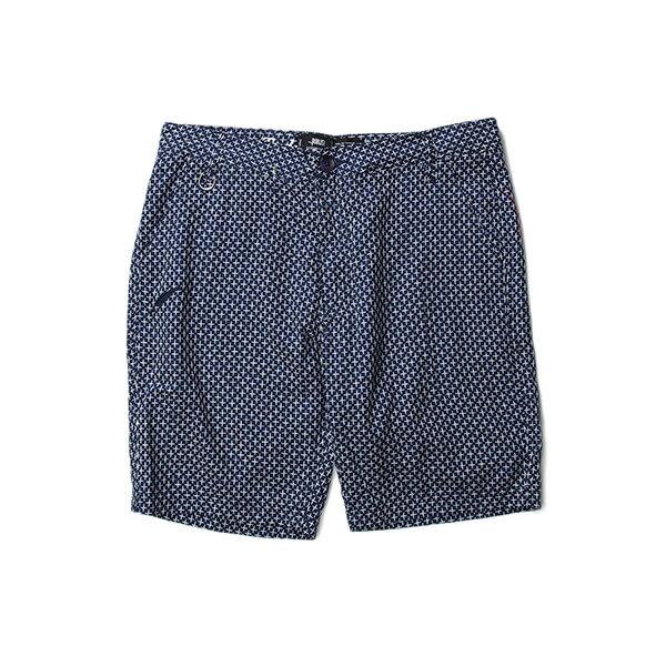 【EST】Publish Amadeus 十字紋 短褲 五分褲 藍 [PL-5321-086] F0529 0