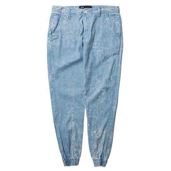 【EST】PUBLISH ARSHAM 雪花 渲染 束口褲 牛仔褲 單寧藍 [PL-5323-488] W28~34 F0529 0