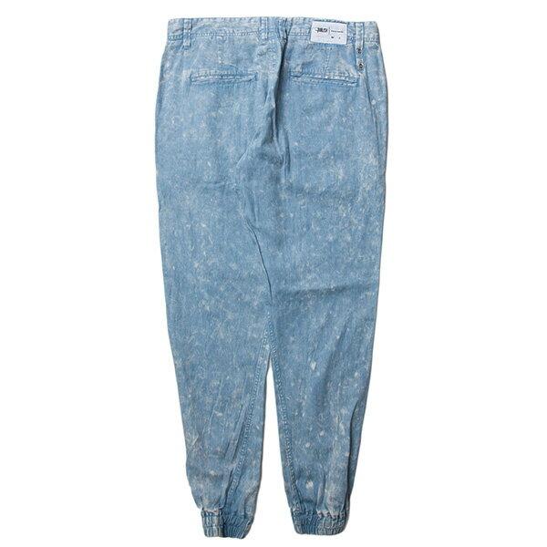 【EST】PUBLISH ARSHAM 雪花 渲染 束口褲 牛仔褲 單寧藍 [PL-5323-488] W28~34 F0529 1