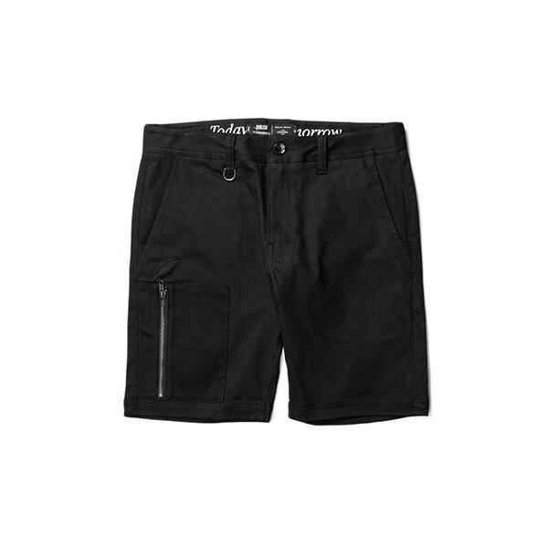 【EST】PUBLISH CARSON 拉鍊 短褲 五分褲 黑 [PL-5327-002] W28~34 F0529 0