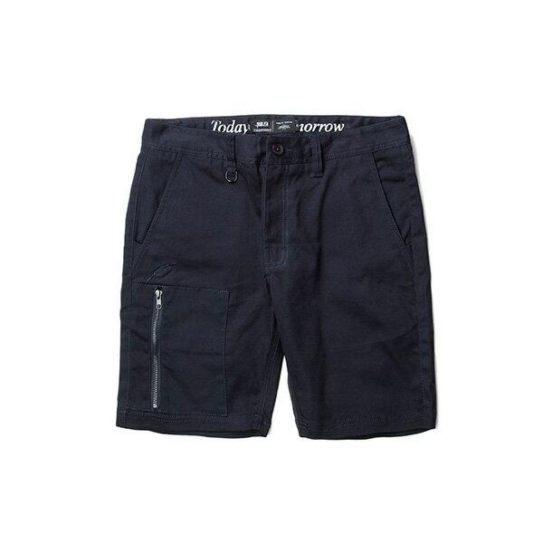 【EST】Publish Carson 拉鍊 短褲 五分褲 藍 [PL-5327-086] F0529 0