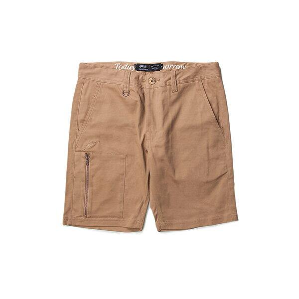 【EST】Publish Carson 拉鍊 短褲 五分褲 卡其 [PL-5327-537] F0529 0