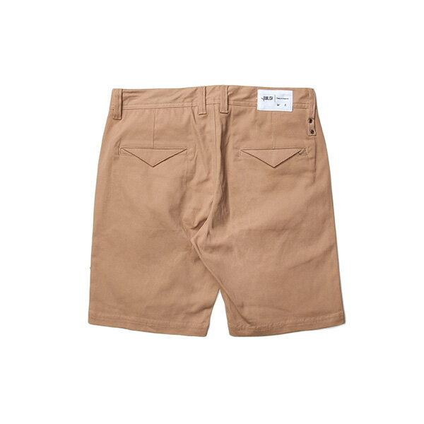 【EST】Publish Carson 拉鍊 短褲 五分褲 卡其 [PL-5327-537] F0529 1
