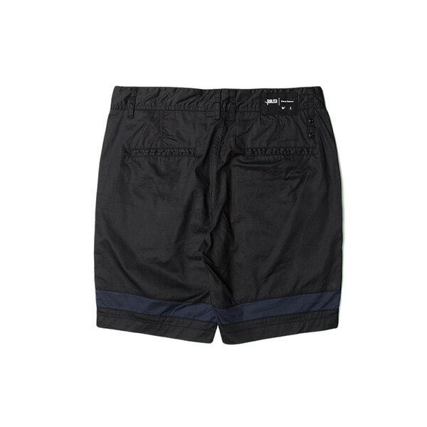 【EST】Publish Gauguin 拚色 短褲 五分褲 黑 [PL-5333-002] W28~34 F0529 1