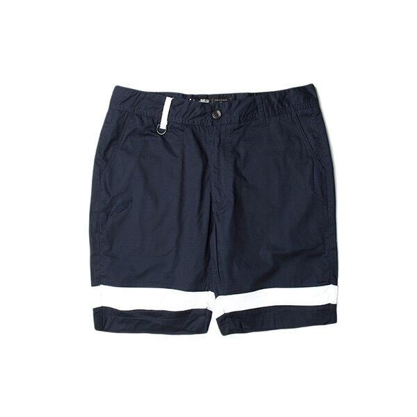 【EST】Publish Gauguin 拚色 短褲 五分褲 藍 [PL-5333-086] F0529 0
