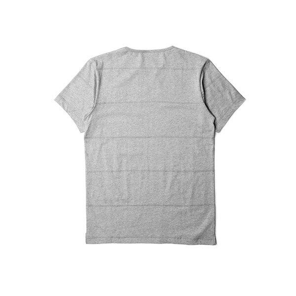 【EST】PUBLISH PARC 素面 條紋 短TEE 灰 [PL-5341-007] S~L F0609 1