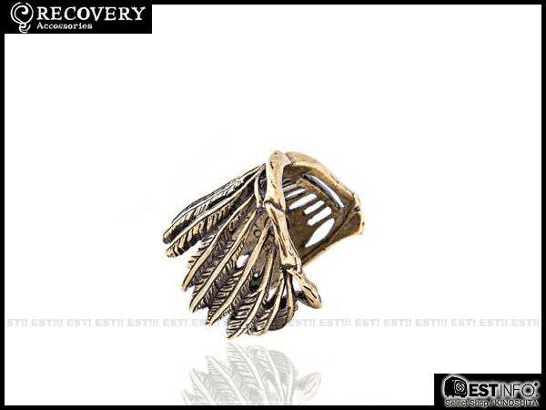 【EST】Recovery 2014 Wing Bone Ring 羽毛 翅膀 戒指 古銀/古銅 [RC-4010-002] E0514 1