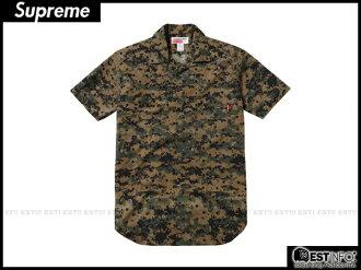 【EST】Supreme x Comme Des Garcons 2013 Cdg 川久保玲 短袖 襯衫 余文樂 迷彩 黑點 [SU-2034-086] D0401