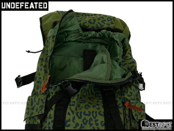 【EST】Undefeated Backpack 多功能 可拆 豹紋 迷彩 後背包 綠 [UF-4128-035] E1001 2