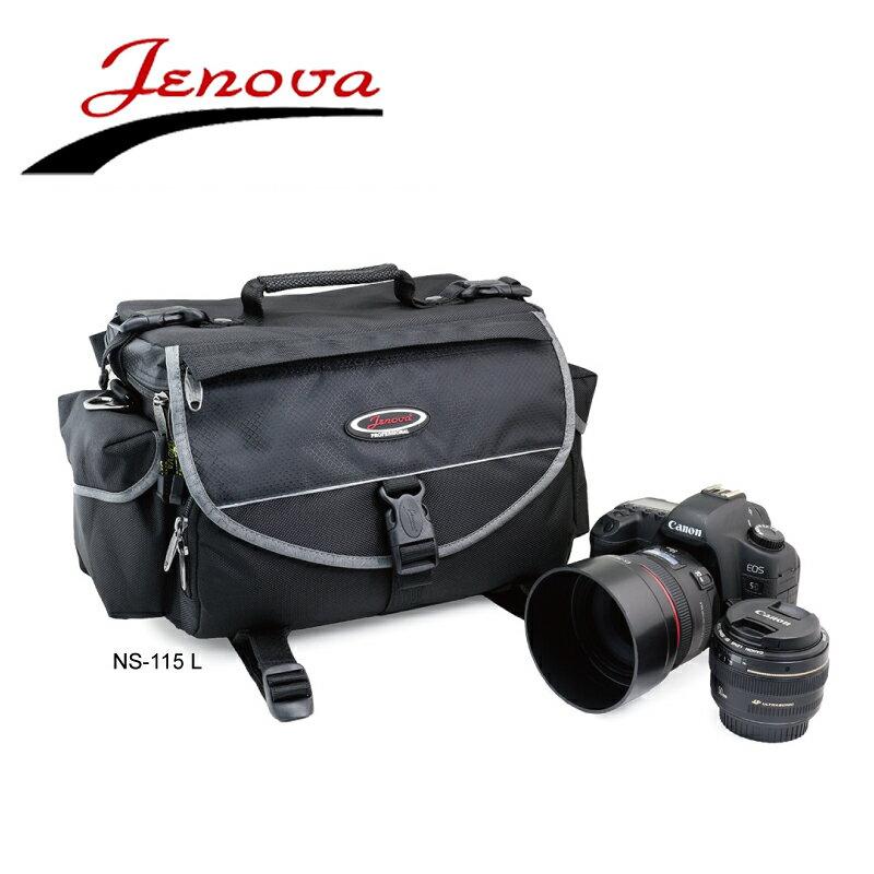 ◎相機專家◎ JENOVA 吉尼佛 NS-115L 單眼相機包 經典系列 專業攝影 側背包 公司貨