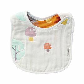 『121婦嬰用品館』奇哥 快樂森林六層紗圍兜(小)