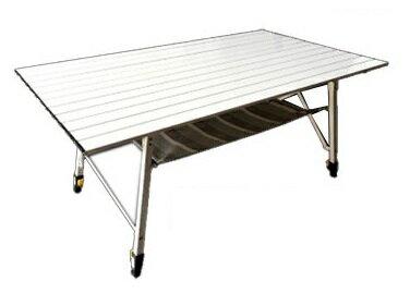 【【蘋果戶外】】速可搭 DJ-515 Scooda 自取送桌下網+桌巾 鋁合金蛋捲桌 休閒桌 摺疊桌 餐桌 料理桌 露營桌 DJ-515
