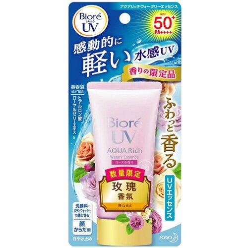Biore 蜜妮 含水防曬保濕水凝乳 玫瑰香氛 SPF50+ PA++++ 50g