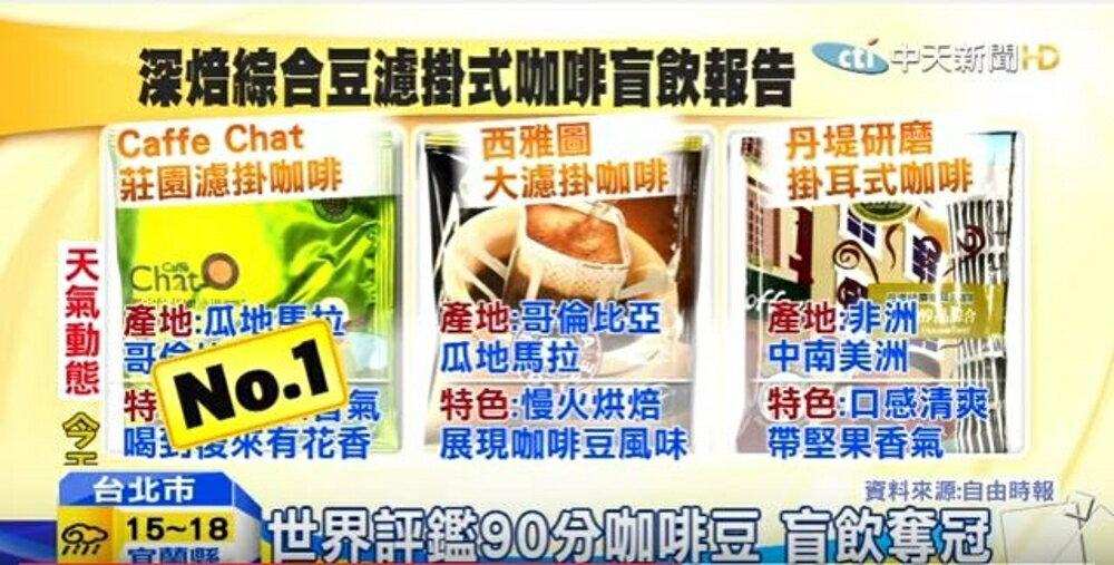 【Caffè Chat 咖啡講】鑑定師莊園濾掛咖啡(拉丁美洲  /  中美非洲) 50入 3