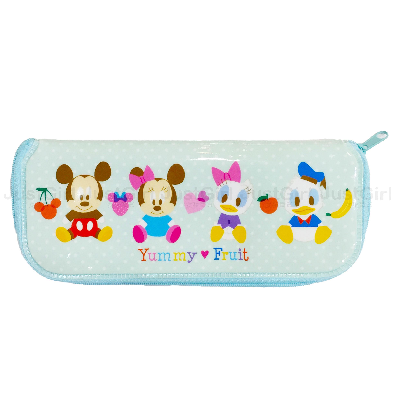 迪士尼 米奇米妮 唐老鴨黛西 寶寶 LILFANT 餐具收納袋 餐具袋 防水 餐具 正版韓國製造進口 JustGirl