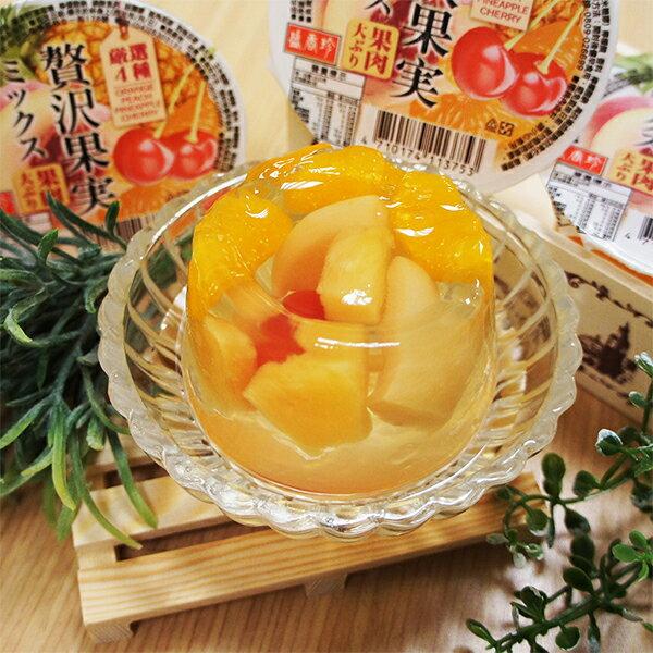 《盛香珍》大果實綜合果凍240gX24杯入 1