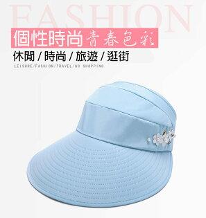 騎跑泳者-加大帽沿機能防曬遮陽帽,登山健走,帽圍可調整,8種顏色
