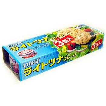 【江戶物語】INABA 三入鮪魚鰹魚罐 80gx3 配飯食品 魚罐頭 油漬鮪魚 拜拜 日本進口 年貨 拜拜