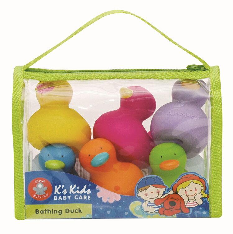 【安琪兒】【K's Kids】Bathing Duck 洗澡小鴨鴨(6入組) - 限時優惠好康折扣