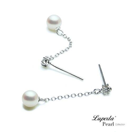 大東山珠寶 可愛寶貝 淡水珍珠耳環 1