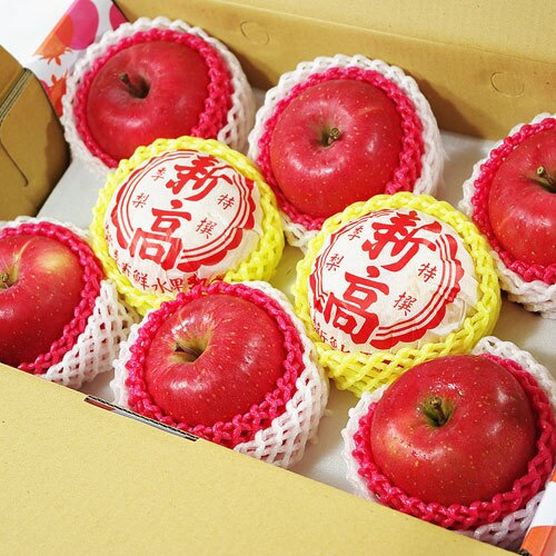 【鮮果日誌】富貴順利禮盒 (日本富士蘋果6入+韓國新高梨2入)