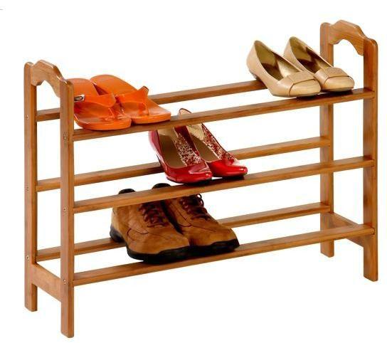 【三層】楠竹 簡約 現代風格 鞋架