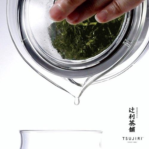 【辻利茶舗 x HARIO】茶茶急須丸形茶壺30ml 。高品質耐熱玻璃製成,可耐熱120度。內附可拆式濾網,沖泡簡易,清洗方便。原廠公司貨。 4