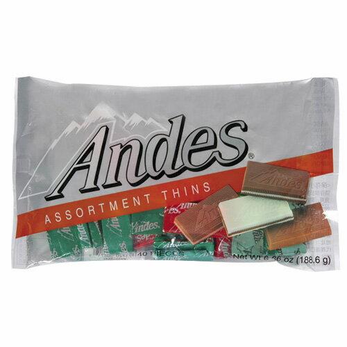 安迪士Andes巧克力薄片-綜合口味165g【愛買】