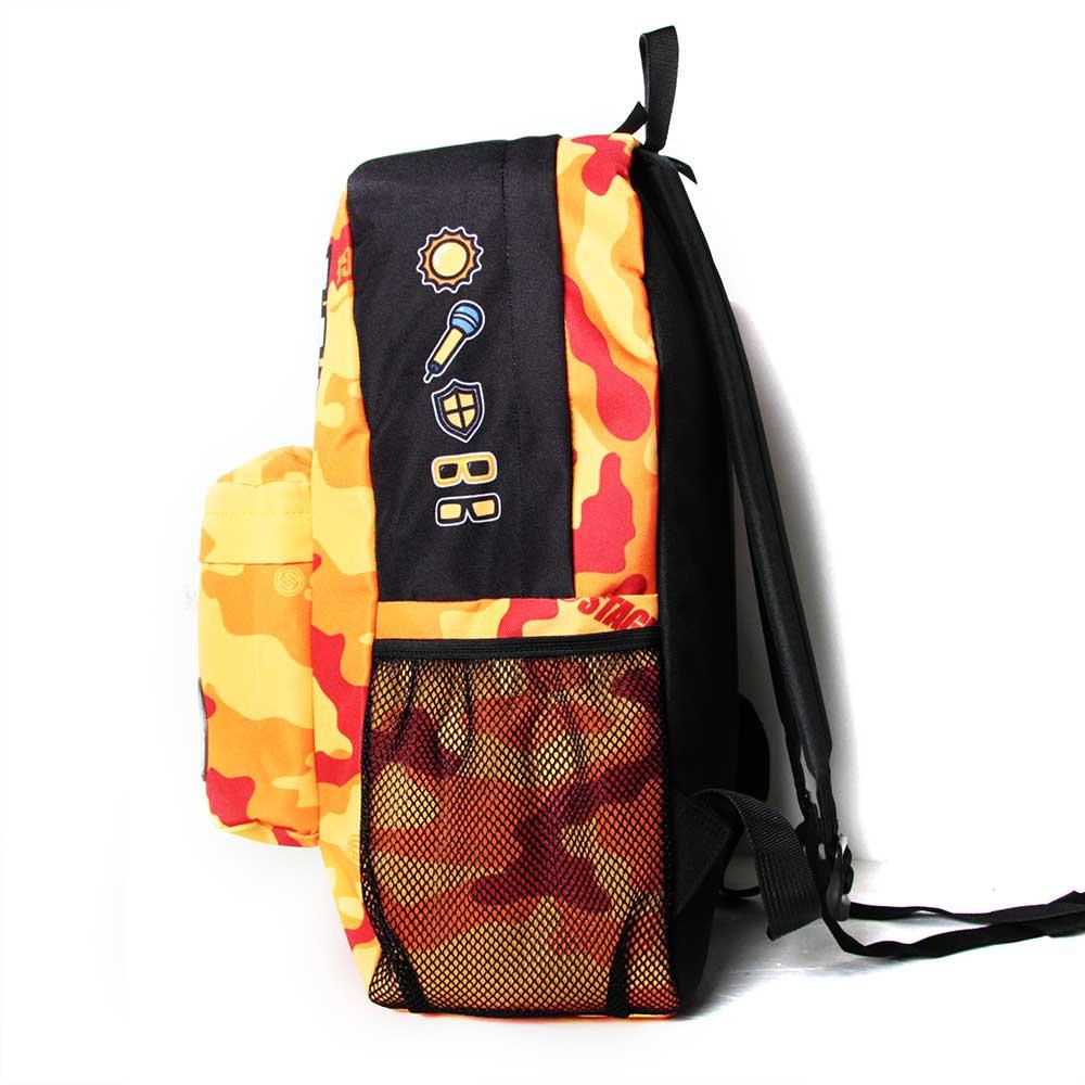 STAGE BAG × UNCLES FRIENDS LEO BACKPACK 橘色 獅子座 3