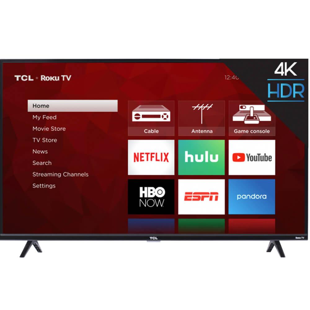 """TCL 43S425 43"""" 4K Smart LED Roku UHDTV + $7.17 Rakuten.com Credit"""