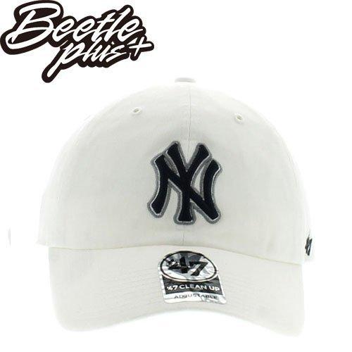 BEETLE 47 BRAND 老帽 紐約 洋基 NEW YORK YANKEES DAD HAT 大聯盟 全白 深藍 MN-389 0