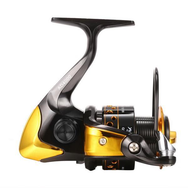 Fishing Reel Interchangeable Collapsible Handle Spinning 4