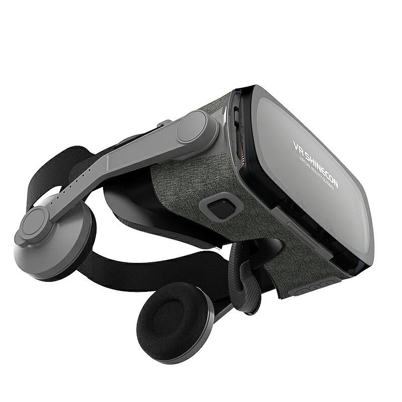 VR眼鏡 VR眼鏡虛擬性體感娃女友自蔚3D用品設備超清全景手機專用電影一體『XY21449』