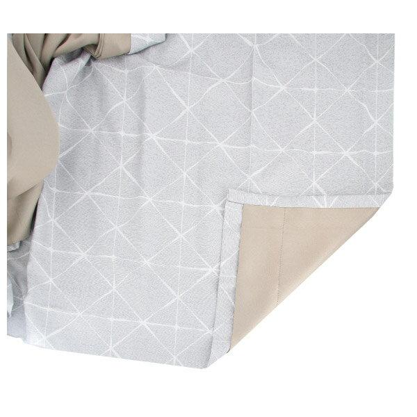 隔熱隔音窗簾 CROSS GY 100×140×1 NITORI宜得利家居 4