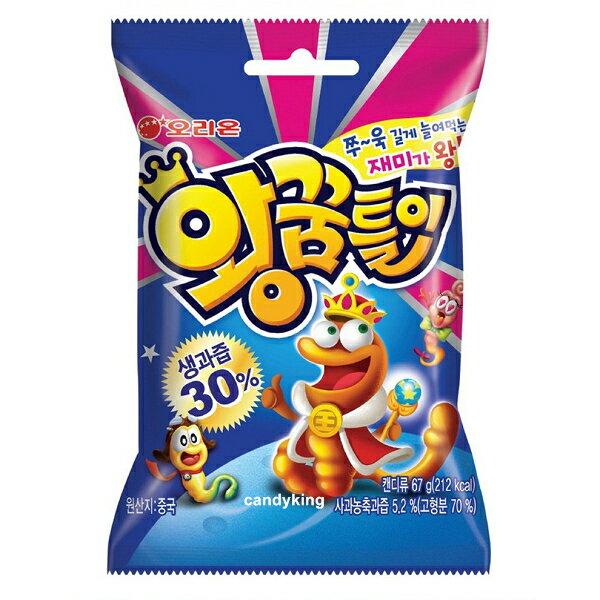 韓國必買糖果 Orion 好麗友 毛毛蟲造型軟糖 67g 增量版 人氣女團 AOA 雪炫最愛