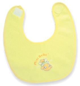 【蜜妮寶貝嬰童用品館】初生黏扣圍兜 / 黃色、藍色、粉紅