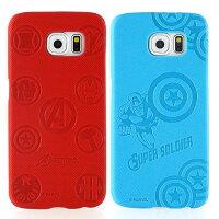 漫威英雄Marvel 周邊商品推薦【MARVEL】Samsung Galaxy S6 高質感皮革壓紋背蓋保護殼